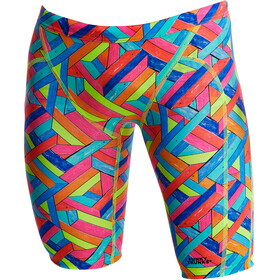Funky Trunks Training Costume a pantaloncino Bambino colorato